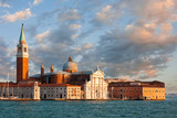 San Giorgio island at late evening, Venice, Italy