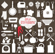 Kitchen set icon. - 57602316