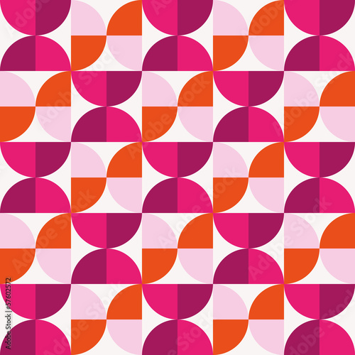 Circles geometrical abstract background