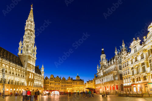 Grote Markt, Brussels, Belgium, Europe. - 57602718