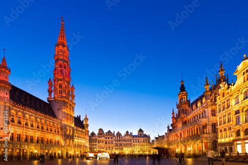 Grote Markt, Brussels, Belgium, Europe. - 57602734