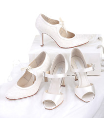 Elegant and stylish bridal shoes