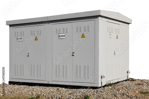 Solar power substation