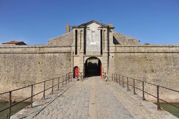 Entrée Demi-lune, Citadelle Port-Louis