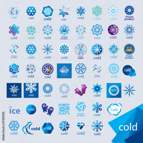 biggest collection of vector logos cold and frost