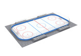 Ice Hockey Field Isolated