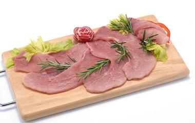 Fettine di carne di tacchino