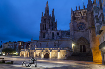 Catedral de Burgos en la Noche