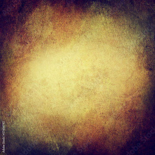 Vintage Background. Grungy and Shabby Texture with Dark Vignette