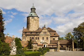 Czocha Castle in Poland
