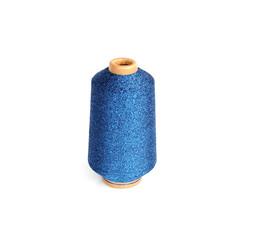 Blauer Lurex