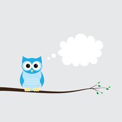 Owlet thinking