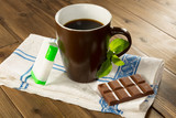 Stevia tabs and chocolate