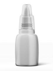blank nasal spray bottle
