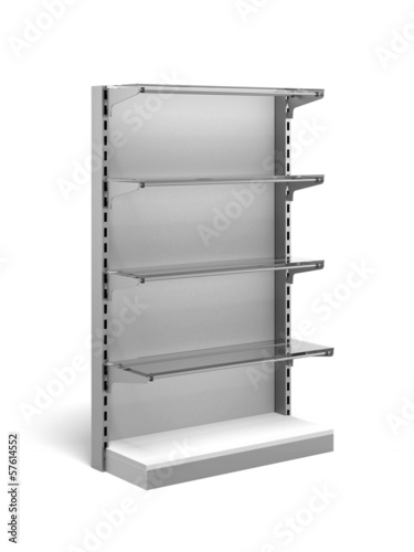 Metal Retail Store Shelves