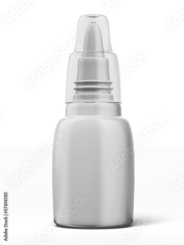blank nasal spray bottle