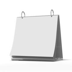 blank white paper template