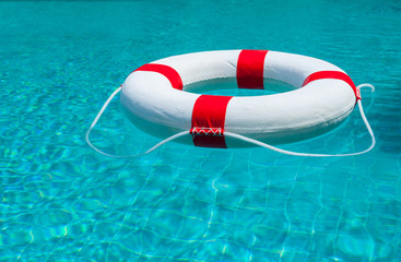 Life Ring at the pool.