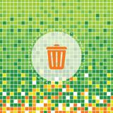 bin symbol on green moses poster