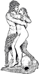Satyr and Nyphe