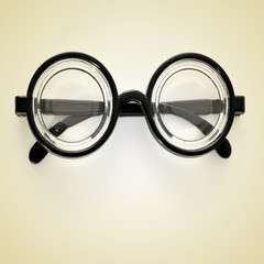short-sighted glasses