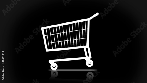 Shopping Cart and presents + alpha matte