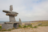 Inukshuk at the beach