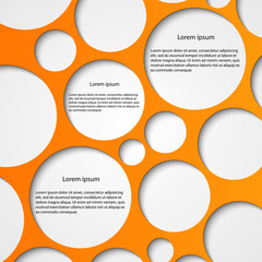 Abstract infographic. Modern design template