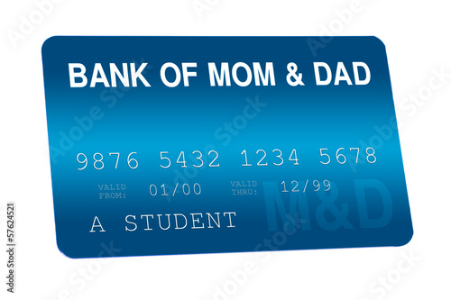 Bank of Mom and Dad Credit Card Family Finances