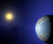 Mondo terra sole globo Asia Australia