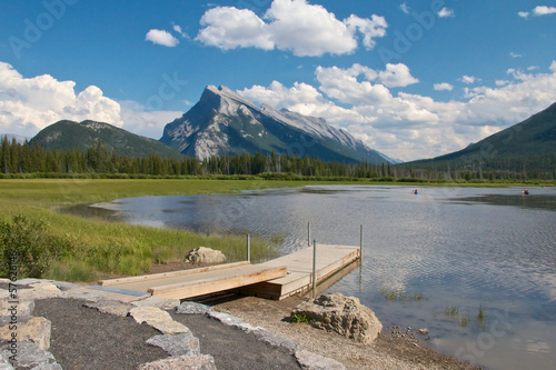 Vermillion Lakes and Dock