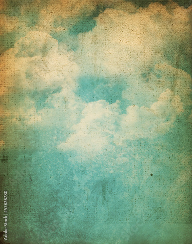 Grunge clouds background © Kirsty Pargeter