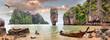 Leinwanddruck Bild - James Bond Island, Phang Nga, Thailand