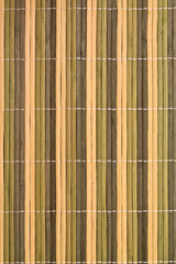 Background - texture of old reed mat bamboo