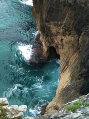 Acantilado en la costa de Asturias