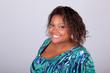 African American woman smiling - Black people