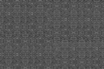 Background of high resolution brick wall texture in black and wh