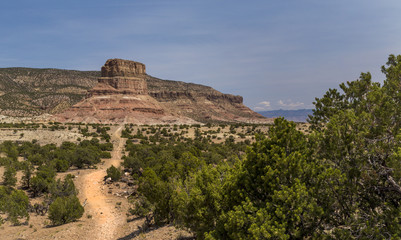 Chimney Rock at the San Rafael Swell in Emery County Utah