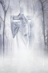 Crucifix Forest Angel