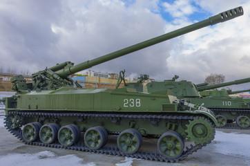 russian vintage tank in ekaterinburg