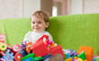 Portrait of  three-year child