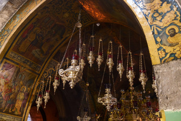 Icon-lamp in Holy Sepulchre