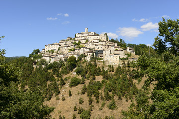 Labro view from south, Rieti