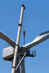 Repairing a windmill