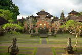 Beautiful temple in Ubud in Bali