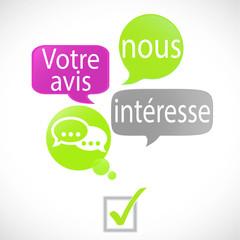 bulles vert fuchsia : votre avis (français)