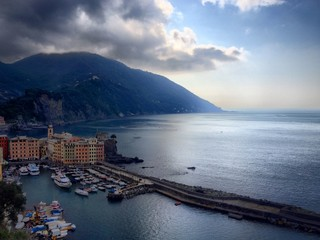 Italian historical village of Camogli