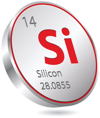 silicon button