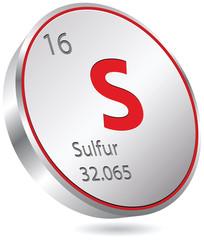 chimic element sulfur