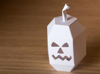 Halloween pumpkin papercraft
